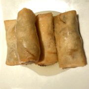 Mini chicken springroll